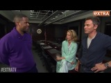 'Extra' Hangs with Téa Leoni and Tim Daly on Set of 'Madam Secretary'
